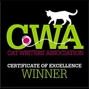 Cat Writers of America Excellence Badge